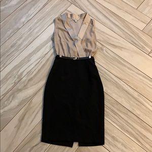 Miss Selfridge V-Neck Dress Sz. 4